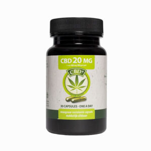 20MG CBD Capsules JACOB HOOY 30 – 60 caps
