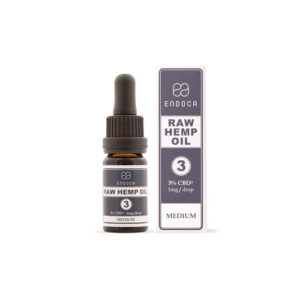 CBD OIL 30MG CBD/ML (3%) ENDOCA 10ml