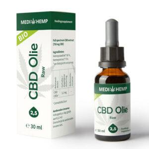 CBD Oil Bio 2.5% MEDIHEMP (10-30ml)