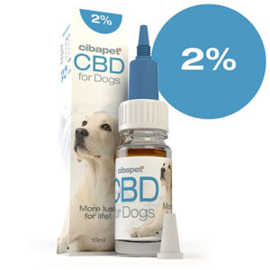 CBD Oil for Dogs 2% CIBAPET 10ml