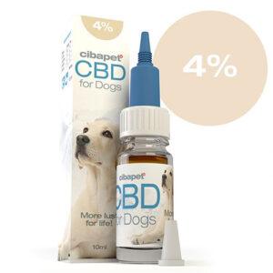 CBD Oil for Dogs 4% CIBAPET 10ml