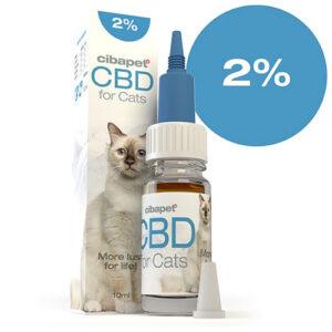 CBD Oil for Cats 2% CIBAPET 10ml