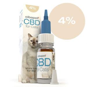 CBD Oil for Cats 4% CIBAPET 10ml