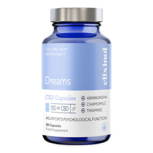 5MG CBD Dreams 30 Capsules ELIXINOL