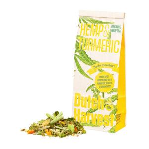 Hemp Tea Hemp & Turmeric Bio 40g DUTCH HARVEST
