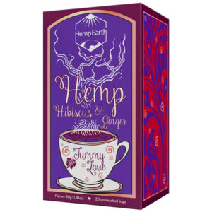 Hemp Tea Tummy Love 20pcs HEMP EARTH