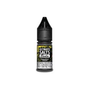 10MG Ultimate Puff Salts Soda 10ML Flavoured Nic Salts (50VG/50PG)