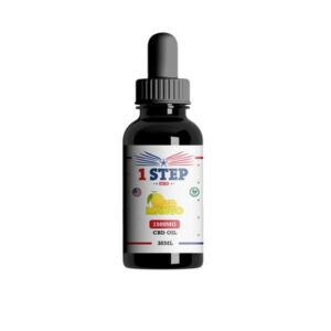 1 Step CBD 1500mg CBD Flavoured Oil 30ml