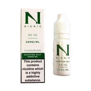 20mg Nic Salt 10ml by Nic Nic (50VG-50PG)