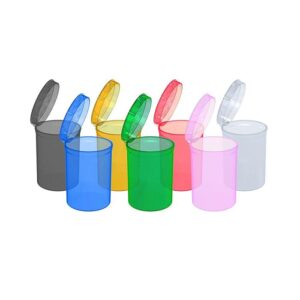 160 x 30 Dram Pop Top Storage Bottles – Mixed Colours