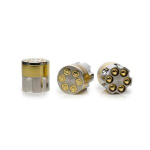 12 x 42mm 3 Parts Zinc Metal Bullet Grinder – 8301
