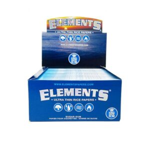 50 Elements King Size Slim Ultra Thin Papers
