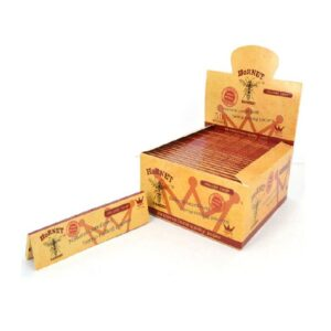 50 Hornet Brown King Size Organic Rolling Papers