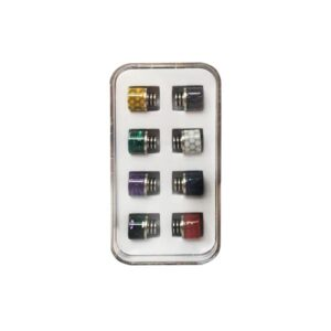 Replacement 510 Drip Tip Set – Pack of 8