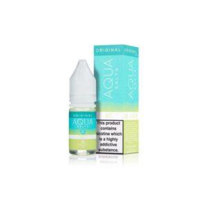 20mg Aqua Original by Marina Vape 10ml Flavoured Nic Salts