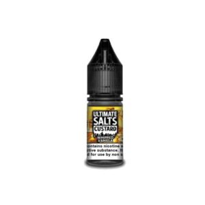 20MG Ultimate Puff Salts Custard 10ML Flavoured Nic Salts