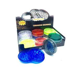 3 Parts NO.1 Magnetic Plastic 55mm Grinder