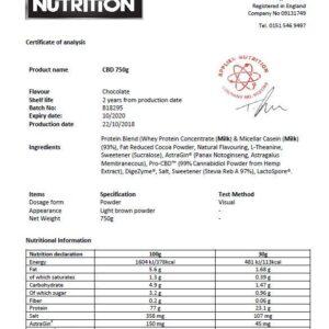 Applied Nutrition Pro CBD Protein & Hemp Powder – Chocolate