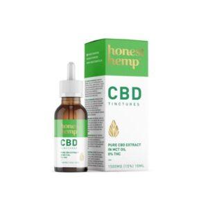 Honest Hemp 1500mg 10ml Pure CBD Extract in MCT Oil