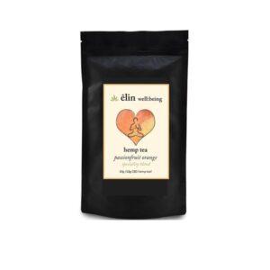 Êlin Well:being 10mg CBD Hemp Tea 30g – Passionfruit Orange