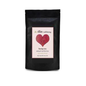Êlin Well:being 10mg CBD Hemp Tea 30g – Mixed Red Berries (Green Tea)