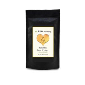 Êlin Well:being 10mg CBD Hemp Tea 30g – Lemon and Ginger tea