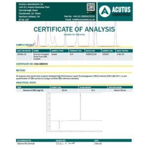 Envium CBD Isolate 5g – Pharmaceutically refined