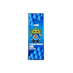 Billiards 420 Terpene CBD Disposable Vape Pen – Blue Haze 100mg