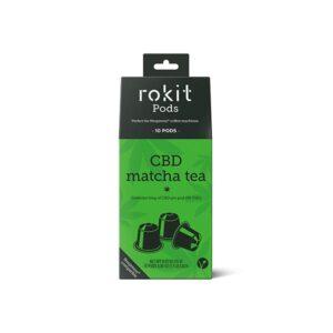 Rokit Pods CBD Matcha Green Tea 5mg Nespresso Pods
