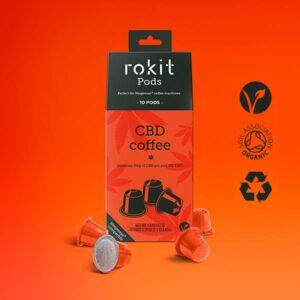 Rokit Pods CBD Coffee 5mg Nespresso Pods
