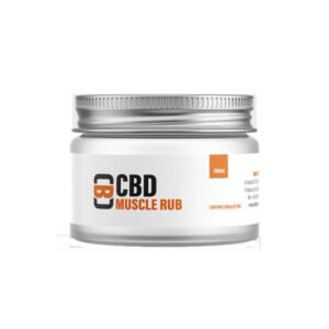 CBD Asylum 500mg CBD 100ml Muscle Rub Balm (Buy One Get One Free)