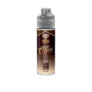 Chief of Vapes Coffee Range 50ml Shortfill 0mg (70VG/30PG)