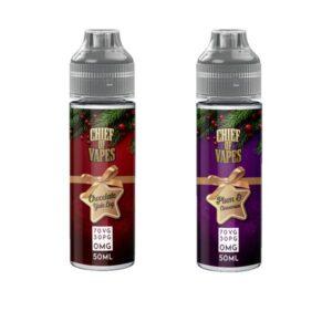 Chief of Vapes Winter Festive Range 50ml Shortfill 0mg (70VG/30PG)
