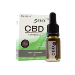 Canabidol 250mg CBD Raw Cannabis Oil Drops 10ml