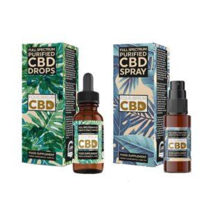 Equilibrium CBD Purified Range 250mg CBD Oil 10ml – Spray / Dropper Bottle