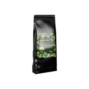 Equilibrium CBD Gourmet Loose Leaf Tea 28g 56mg CBD – Sencha Green