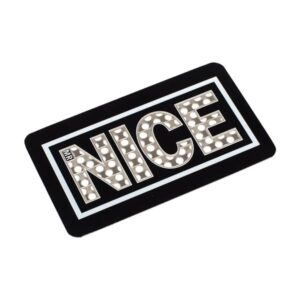 Mr Nice Stay Nice Grinder Card – Black