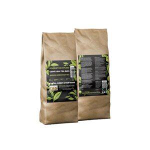 Equilibrium CBD Gourmet Loose 200 Tea Bags Bulk 680mg CBD – English Breakfast Tea