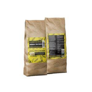Equilibrium CBD Gourmet Herbal 200 Tea Bags Bulk 680mg CBD – Ginger & Turmeric