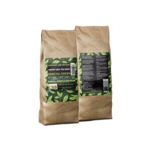Equilibrium CBD Gourmet Loose 100 Tea Bags Bulk 340mg CBD – Sencha Green
