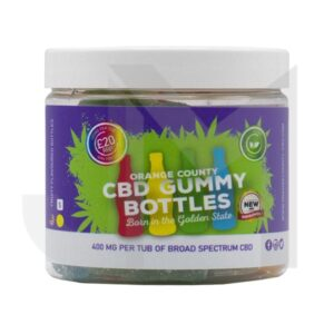 Orange County CBD 400mg Gummies – Small Pack