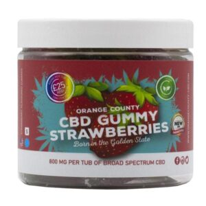Orange County CBD 800mg Gummies – Small Pack