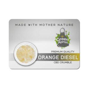 Green Apron Crumble 85% CBD + 10% CBG – 1g