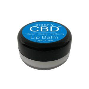 Clearly CBD Lip Balm 25mg CBD 10g