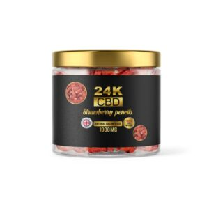 24K 1000mg CBD Premium Gummies
