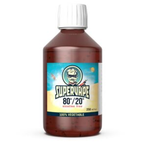 SuperVape by Lips Liquid Bases PG/VG/AG 250ml