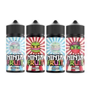 Ninja Fruit 100ml Shortfill 0mg (70VG/30PG)