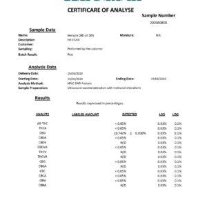 Hemplix 18% 1800mg CBD Oil 10ml