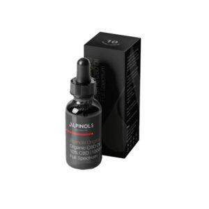 Alpinols 10% Full Spectrum 1000mg CBD Oil 10ml