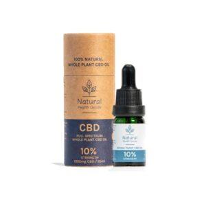Natural Health Goods Full Spectrum 1000mg CBD Oil 10ml